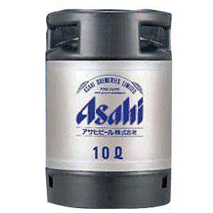 【送料無料】アサヒ スーパードライ 生樽 10L 生ビール (業務用)樽保証金込み|shochuya-doragon