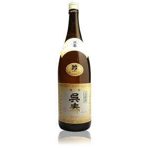 呉春(ごしゅん) 特吟 吟醸酒 1800ml  大阪 呉春酒造 日本酒