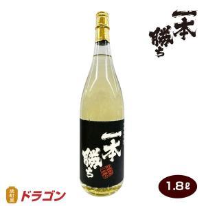 【濱田酒造】一本勝ち 樫樽貯蔵黒麹仕込  芋焼酎 1800ml【ドラゴンオリジナル】 shochuya-doragon