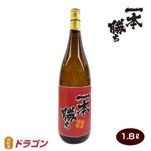 【濱田酒造】一本勝ち 麦焼酎 1800ml【ドラゴンオリジナル】 shochuya-doragon