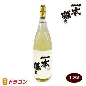 【濱田酒造】一本勝ち 樫樽貯蔵  麦焼酎 1800ml【ドラゴンオリジナル】 shochuya-doragon