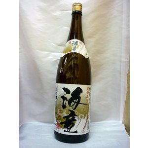 海童 黒麹 25度 1800ml  濱田酒造|shochuya-doragon
