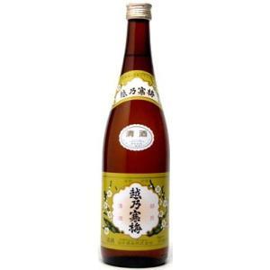 越乃寒梅 白ラベル 本醸造 720ml  新潟県 石本酒造 日本酒|shochuya-doragon