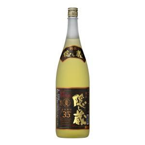 特撰 隠し蔵 35度 1800ml 麦焼酎 濱田酒造 かくしぐら 1.8L|shochuya-doragon