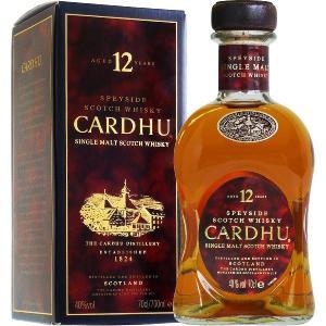 カーデュ 12年 シングルモルト・スコッチ・ウイスキー 700ml (イギリス)|shochuya-doragon