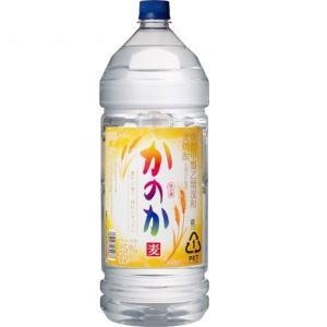 かのか 麦 25度 甲乙混和焼酎 ペットボトル 4L アサヒ むぎ焼酎 大容量 業務用 shochuya-doragon