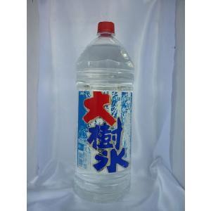 サントリー 大樹氷 20度 4.0Lジャンボペット 甲類焼酎 4000ml|shochuya-doragon