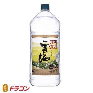 雲海 うんかい そば焼酎 25度 4L ペット 雲海酒造 4000ml |shochuya-doragon