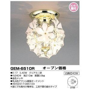 GEM-6510Rキシマシーリングライトワンタッチ取付|shoden