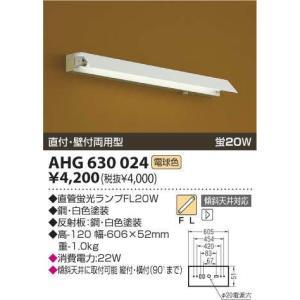 AHG630024コイズミ照明20Wトラフ型(片笠)60Hz専用 西日本専用|shoden