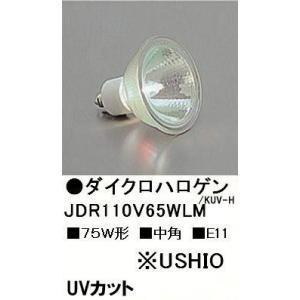 ウシオJDR110V65WLM/KUV-H(75W・中角)