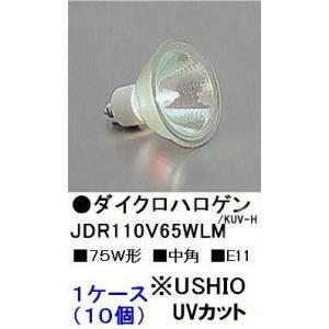 ウシオJDR110V65WLM/KUV-H(75W・中角)/10P