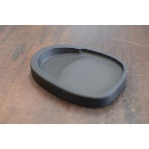 羅紋硯 楕円4インチ 書道硯石|shodouya