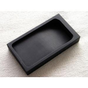 羅紋硯 角型 6インチ 書道硯石|shodouya