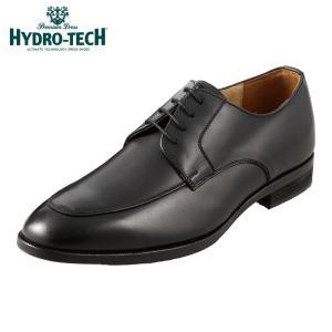 ハイドロテック プレミアムドレス HYDRO TECH HD1810 メンズ | ビジネスシューズ 本革 | 外羽根 Uチップ | ブラック