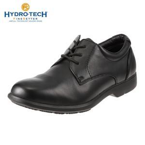 ハイドロテック ファインセッター HYDRO TECH HD 1906 メンズ ビジネスシューズ 黒 防水 幅広 4E 軽量 防滑 ブラック