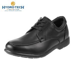 ハイドロテック ファインセッター HYDRO TECH HD 1907 メンズ ビジネスシューズ 黒 防水 幅広 4E 軽量 防滑 ブラック