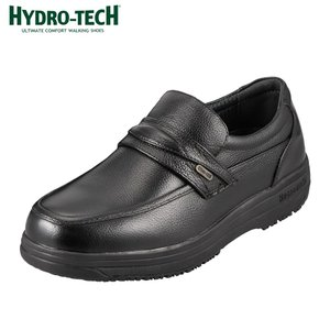 [入荷次第発送]ハイドロテック  ウォーキングシューズ 本革  防水 HYDRO-TECH ウォーキングコレクション 6302  メンズ  ブラック