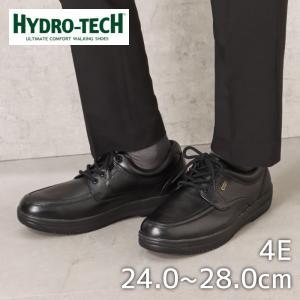ハイドロテック ウォーキング HYDRO TECH 6301 メンズ ウォーキングシューズ 本革 防水 ブラック