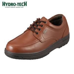 [入荷次第発送]ハイドロテック ウォーキングコレクション HYDRO-TECH 6301 ウォーキングシューズ 茶色 本革 防水 メンズ ブラウン