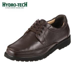 [入荷次第発送]ハイドロテック HYDRO-TECH HD1304 ウォーキングシューズ 本革 防水 軽量 幅広 4E メンズ ダークブラウン
