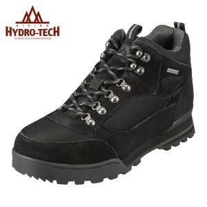 ハイドロテック ハイキング HYDRO TECH 6360 メンズ ハイキングシューズ 防滑 防水  大きいサイズ対応 28.0cm ブラック