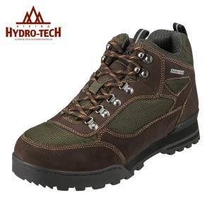 ハイドロテック ハイキング HYDRO TECH 6360 メンズ ハイキングシューズ 防滑 防水  大きいサイズ対応 28.0cm オリーブ