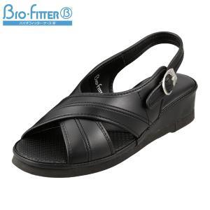 バイオフィッター ナース Bio Fitter BFN25062 レディース | ナースサンダル | 大きいサイズ対応 | ブラック|SHOE・PLAZA シュープラザ