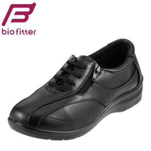 バイオフィッター レディース Bio Fitter BFL-012 レディース ウォーキングシューズ レースアップシューズ ブラック|SHOE・PLAZA シュープラザ