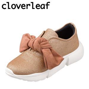 クローバーリーフ cloverleaf CL-128 レディース | スニーカー | 屈曲性 | 大きめ リボン | かわいい 人気 | ピンク|SHOE・PLAZA シュープラザ