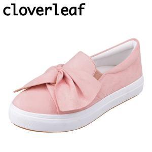 クローバーリーフ cloverleaf CL-130 レディース | スニーカー | クッション性 | リボン かわいい | ピンク|SHOE・PLAZA シュープラザ