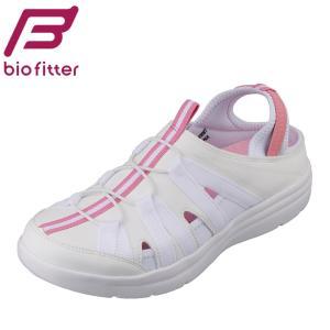 バイオフィッター ナース Bio Fitter BFN-25073 レディース | ナースシューズ | 抗菌加工 清潔 | ピンク×ホワイト|SHOE・PLAZA シュープラザ