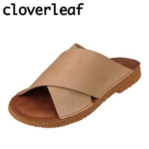 クローバーリーフ cloverleaf CL-138 レディース | サンダル | クロスベルト | フラットソール ぺたんこ | ピンク|SHOE・PLAZA シュープラザ