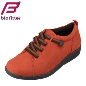 バイオフィッター レディース Bio Fitter BFL-3020 レディース | カジュアルシューズ | 大きいサイズ対応 | オレンジ|SHOE・PLAZA シュープラザ