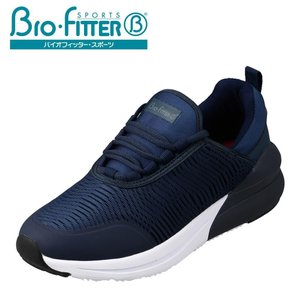 バイオフィッター スポーツ Bio Fitter BF-258 レディース | スニーカー | 大きいサイズ対応 | 軽量 軽い | ネイビー|SHOE・PLAZA シュープラザ