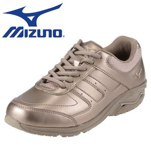 ミズノ  MIZUNO B1GL154166|MIZUNO NS WALK2 レディース|ピンク×ベージュ|ウォーキングシューズ|shoe-chiyoda