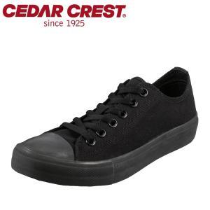 セダークレスト カジュアル CEDAR CREST CC-9144W レディース | ブラック×ブラック|shoe-chiyoda
