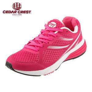 セダークレスト CEDAR CREST CC-9704W レディース | レディーススニーカー | ランニングシューズ ジョギング | ピンク|shoe-chiyoda