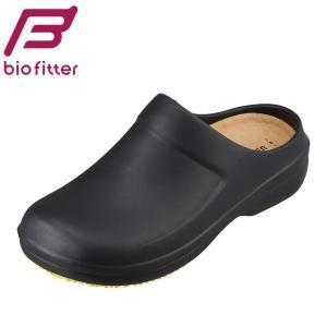 バイオフィッター らくほ Bio Fitter BFH-5009 レディース | サンダル | クロッグシューズ | 軽量 軽い | ブラック|SHOE・PLAZA シュープラザ