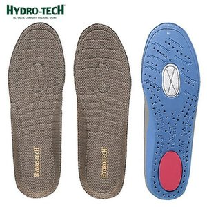 [ハイドロテック] HYDRO TECH HD6006 | ウォーキングインソール 中敷き | 衝撃吸収 静電気放出 | カップインソール 通気性 | ブラウン