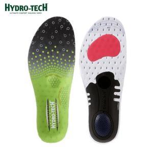 [ハイドロテック] HYDRO TECH HD6008 メンズ   インソール 中敷き   衝撃吸収 クッション性   通気性 抗菌加工   グリーン