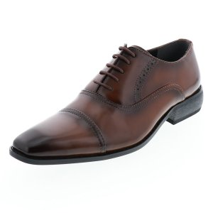 ビジネスシューズ メンズ 2足セット シューマートオリジナル ワイズ 3E相当 幅広 合皮 黒 茶 25.0cmから28.0cm 靴のシューマート