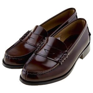 ハルタ HARUTA 3048 レディース ローファー 本革 ゆったり3E 学生靴 学生 通学 日本製 正規取扱店 ブラック / ブラウン|靴のシューマート