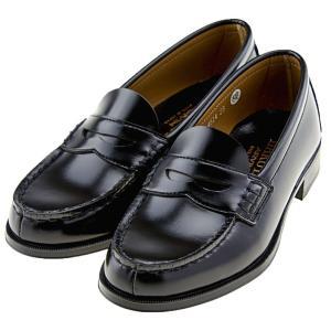 ハルタ HARUTA 4514 レディース ローファー 普通幅 2E 学生靴 学生 通学 日本製 正規品 黒 ブラック|靴のシューマート