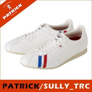 PATRICK パトリック日本製 SULLY シュリー TRC  トリコ メンズ  レディース 白 スニーカーシュリー SULLY_ TRC