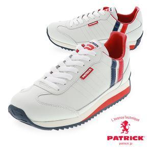 PATRICK パトリック 日本製  MARATHON-L_TRC マラソン レザー トリコメンズ  レディース レザー 白スニーカーマラソンレザー MARATHON-L