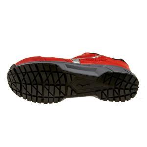 安全靴 スニーカー ミズノ MIZUNO メンズ レディース オールマイティLS レッドxシルバーxブラック 紐 ローカット セーフティシューズ 赤 C1GA1700 RD62 shoemart 04