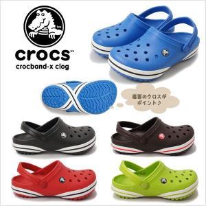 CROCS CROCBAND-X CLOGクロックス クロックバンドX クロッグ 正規取り扱い店