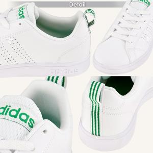 adidas アディダス レディース スニーカー VALCLEAN2 バルクリーン2 F99251 F99252 ローカット コートタイプ ホワイト×グリーン ホワイト×ネイビー 白 shoemart 03