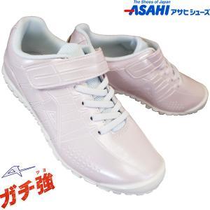 アサヒシューズ ASAHI アサヒ J004 ホワイト/ホワイト (18〜25cm) ガチ強 KE7...